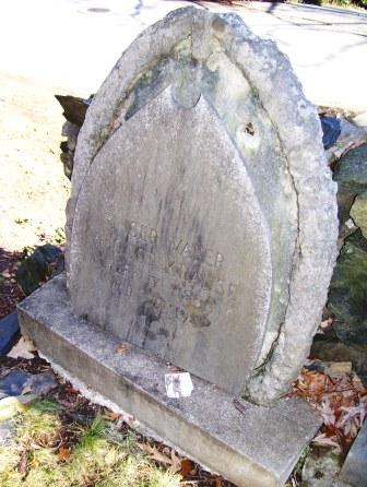 Krause Headstone, Before