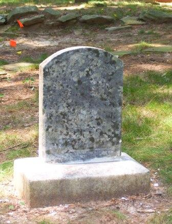 Mary Johns's Headstone, After