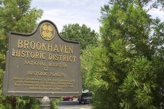Brookhaven Historic Marker